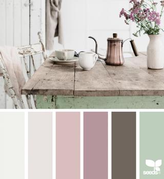 {color setting}图片来自:@kimklassen帖子颜色设置首先出现在Design Seeds上。