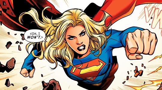 (Supergirl:Rebirth#1) -  Emanuela Lupacchino