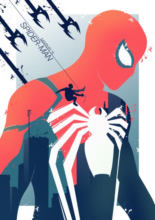 漫威的蜘蛛侠 -  http://legionofpotatoes.tumblr.com/post/178614707827/i-caved-i-have-no-time-for-personal-projects