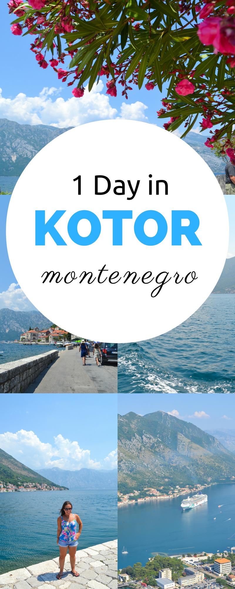 乘坐游轮或杜布罗夫尼克一日游前往科托尔?在科托尔黑山(Kotor Montenegro)只需一天即可享受这个地区所提供的一切。