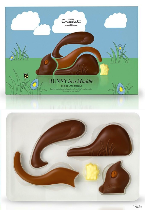Hotel Chocolate Easter #chocolate #packaging #bunny PD