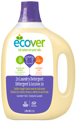 Formulated to work in cold water Our concentrated liquid laundry detergent is tough on stains even in cold water, which means you can use less energy for every load. Made with plant-based ingredients and packaged in plastic made from sugarcane, our biodegradable formula is gentle on your skin and the environment. Plus, our 100% natural fragrance leaves clothes smelling fresh and clean. We think it's a combination that would make Mother Nature proud.