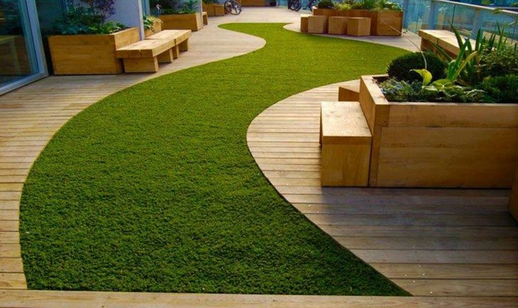 Artificial Turf and Decking: the Perfect Combination - Artificial ...