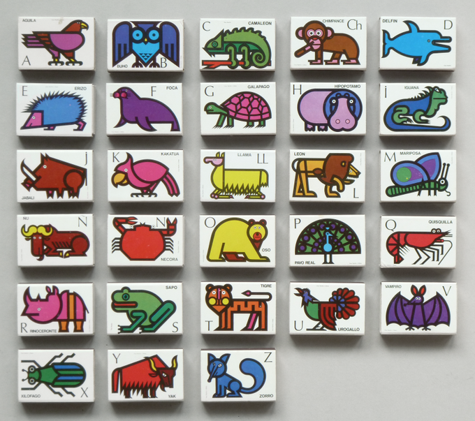 Animal Matchboxes, 1970s PD