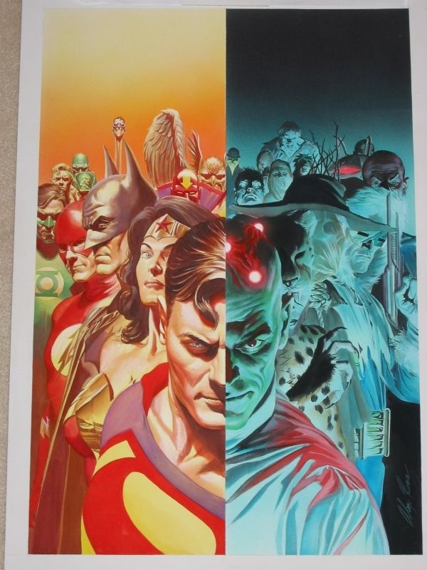 Alex Ross Justice cover