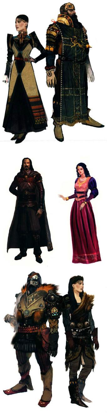 与龙腾世纪有关的图片:Thedas世界第1卷和龙腾世纪:Thedas世界第2卷。