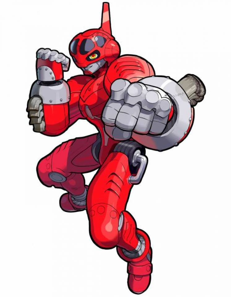 Power Stone Falcon Red Whirlwind