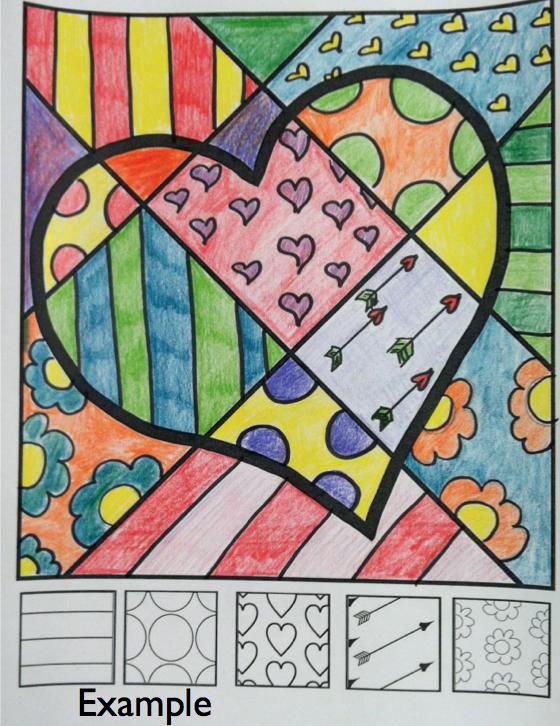 2月的情人节那天,我会用互动着色纸来玩玩。