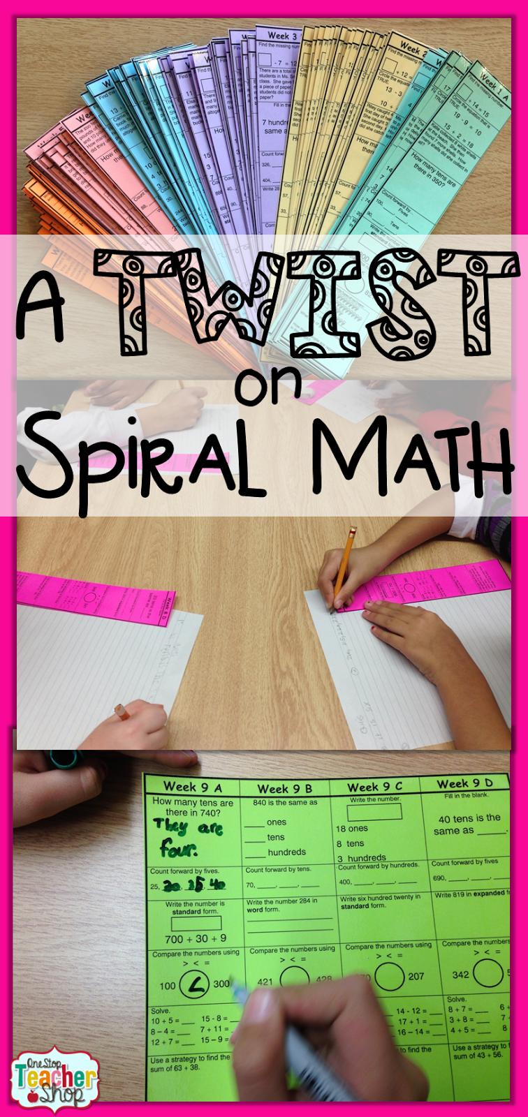 了解在课堂上使用螺旋数学资源的不同方法;包括螺旋数学家庭作业和螺旋语言作业。