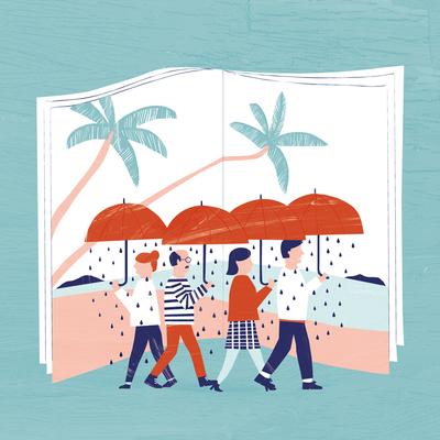 Editorial Illustration by Katinka Reinke