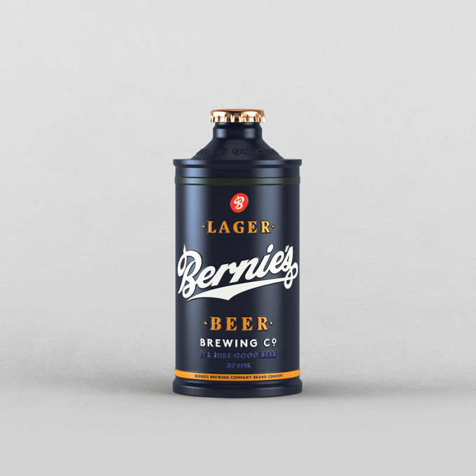 For this project, the task was to develop a logo, package and label.   #logo #label #3d #beer #branding #brand #packaging #lager #design #company #project #choice #choicestudio