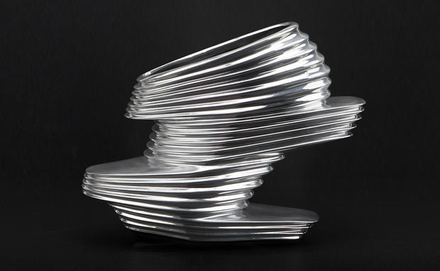 ZAHA HADID & REM D KOOLHAAS #United Nude shoe