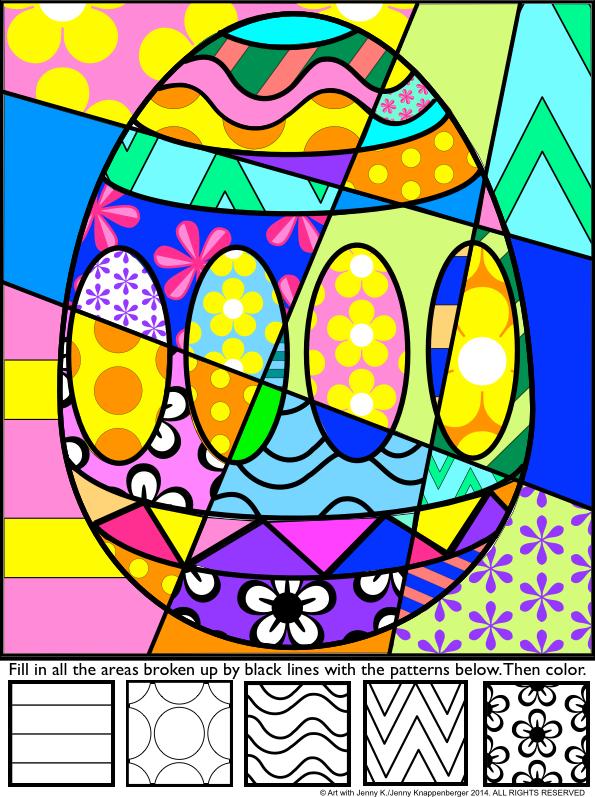 复活节活动:波普艺术互动和图案填充着色表。在我的复活节波普艺术彩色纸上复活节带来一些真正的乐趣。学生为不同的复活节符号添加大胆的图案,然后为他们的设计着色以制作波普艺术风格的复活节