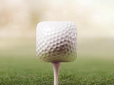 Dribbble  -  Dash的高尔夫图标