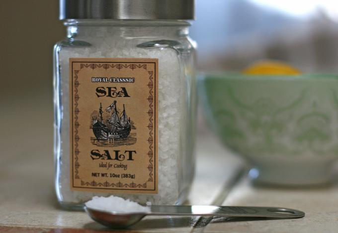 Royal Classic salt packaging