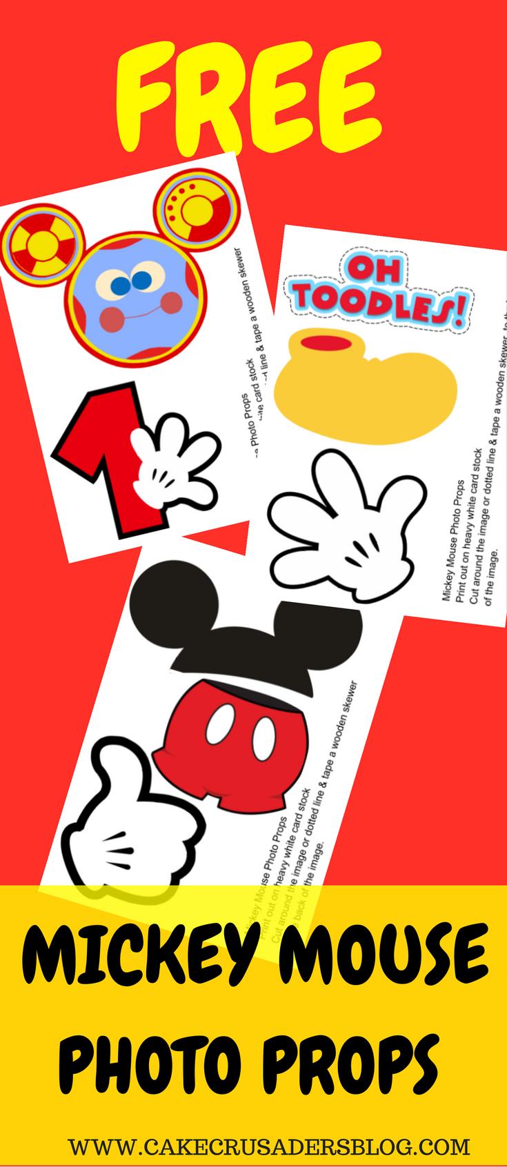 想要为孩子的米老鼠派对增添额外感觉?为什么不试试这些可爱容易制作的免费米老鼠照片道具。需要的工具:米老鼠照片道具打印1米老鼠照片道具可打印2米老鼠照片道具可打印3打印机(我使用)卡片纸热胶枪笔芯剪刀...