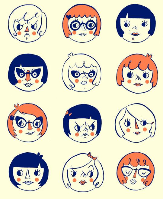 girls poster // tuesday bassen