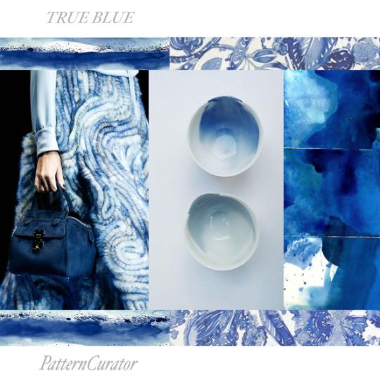 TRUE BLUE // PatternCurator.org // 17秋'