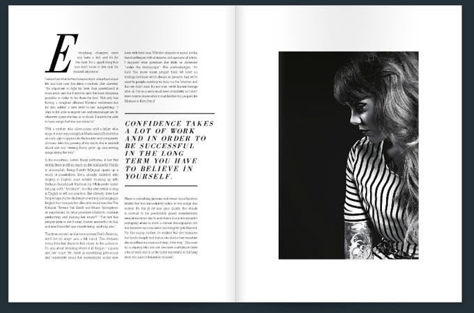 layout inspiration #layouts #magazine