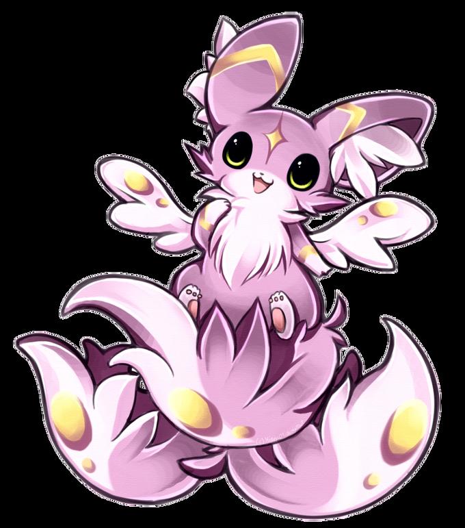 Fakemon: Furpai by Midna01.deviantart.com on @deviantART