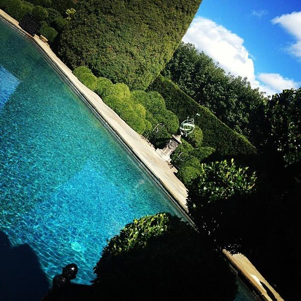 设计师游泳池。
