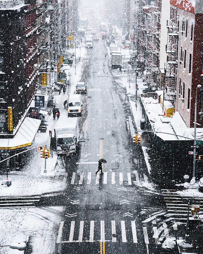 Snow days in NYC