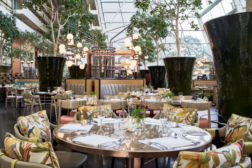 RISE Restaurant at Marina Bay Sands by Aedas Interiors