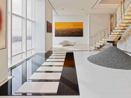 ODA's NYC Penthouse: Zen Garden by Day