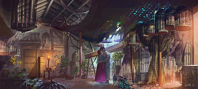 The Magician - concept art
