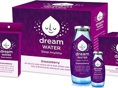 Dream Water packaging design