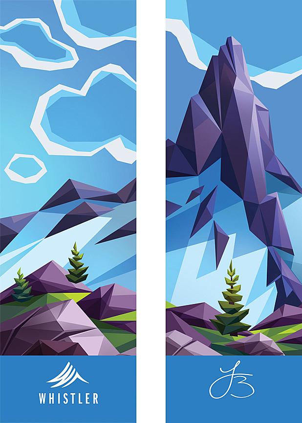 Unique Landscapes Illustrations By Laura Bifano