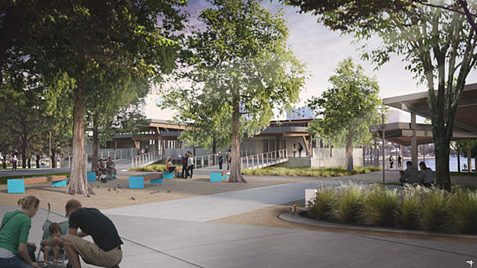 Civitas/W Architecture design for Tampa Riverfront Park breaks ground August 3, 2016,AEST