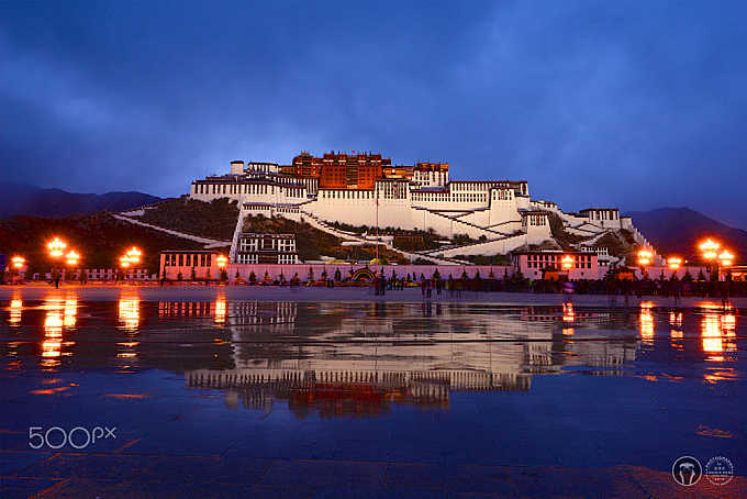 The Night of the Potala Palace.