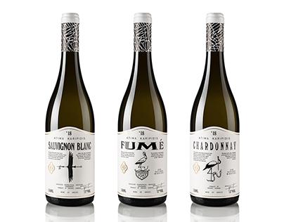 Karipidis White Wines Packaging
