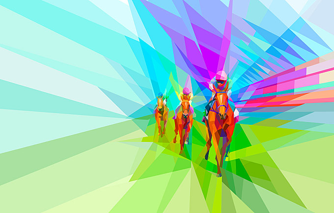 Ascot racehorse: You bring the colour.