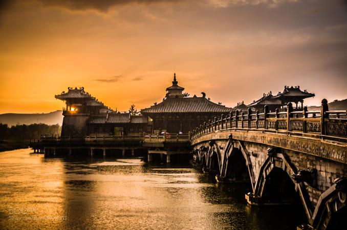 Bridge Under Sunshine