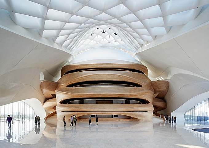 Harbin Opera House – a futuristic architectural landmark in China