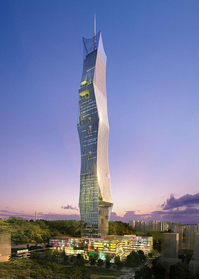 New landmark tower for Seoul