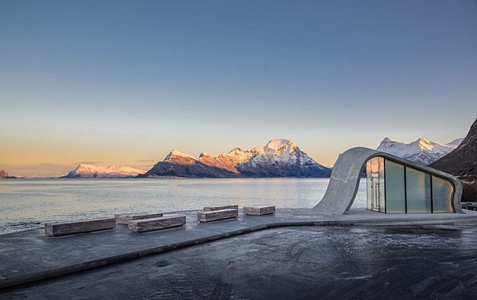 Architectural Public Toilets in Norway