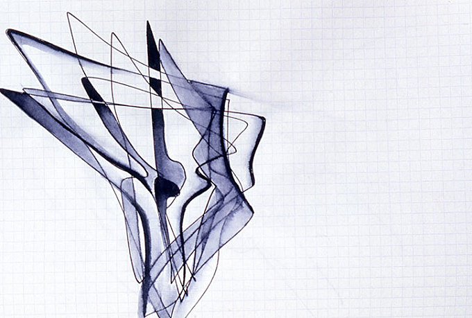 Zaha Hadid's drawings, paintings and calligraphy to be revealed in new show