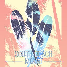 South Beach Miami Placement Graphic