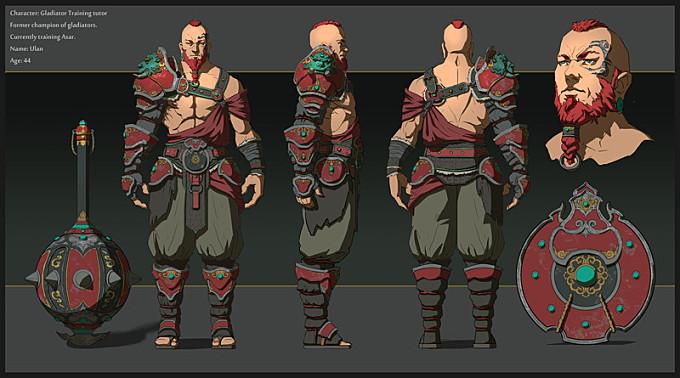 Ulan - Character design