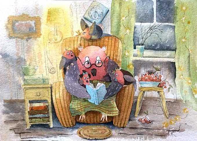 Вечерние чтения с дедушкой