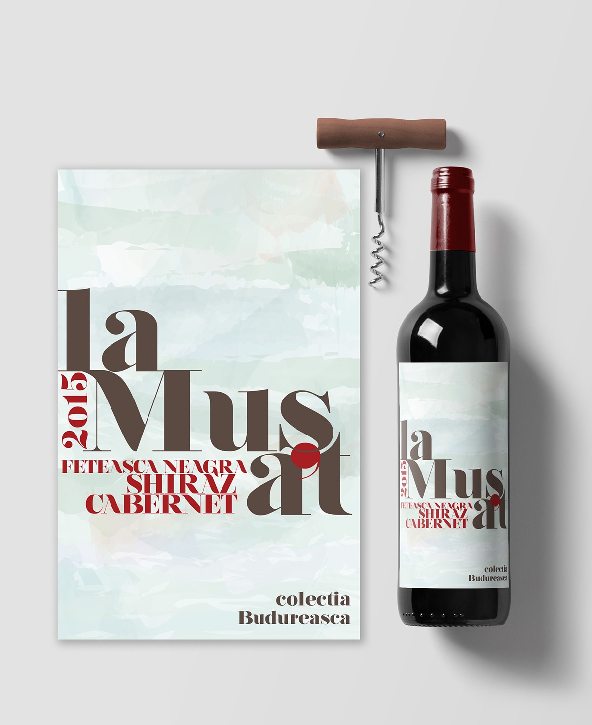 Red Wine Label Packaging