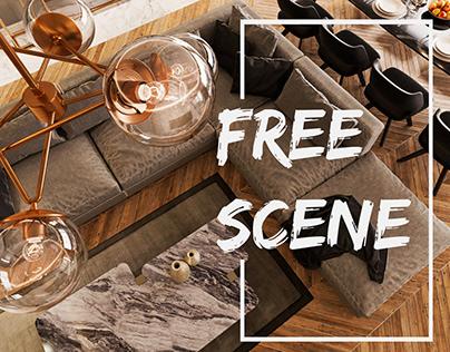 Fold Apartment -FREE SCENE