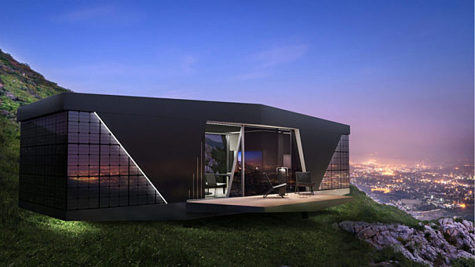 The iOhouse SPACE: Off-the-Grid, Internet Connected Living