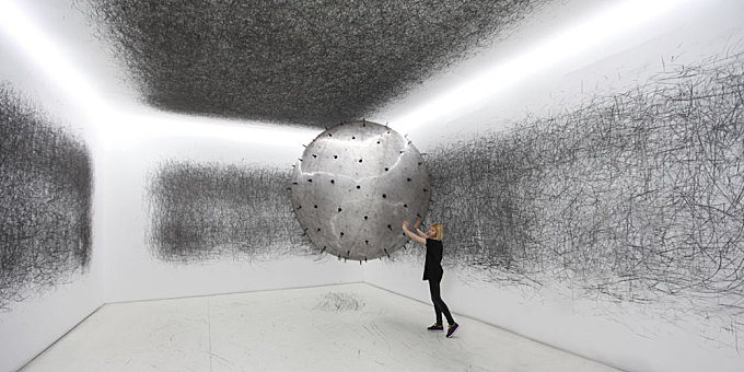 An Incredible Gigantic Helium-Filled Drawing Tool