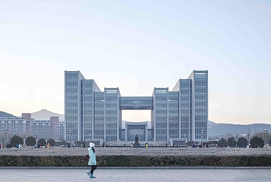 The Library of Shandong Normal University / UAD
