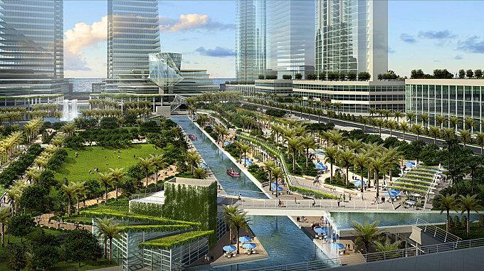 Shams Abu Dhabi: Central Park and Public Landscapes | Abu Dhabi, UAE | CRJA-IBI Group January 26, 2016,AEDT