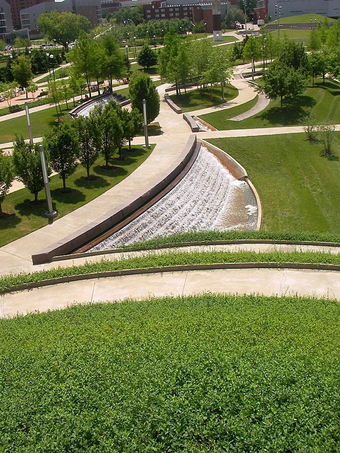 University of Cincinnati Ohio, Campus Green